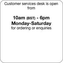 Customer services desk is open from