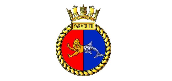 HMS Yarmouth Pin now available