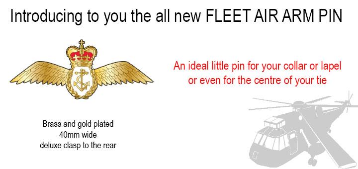 Fleet air arm pin