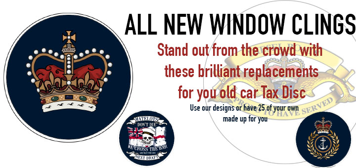 All new window clings for your car