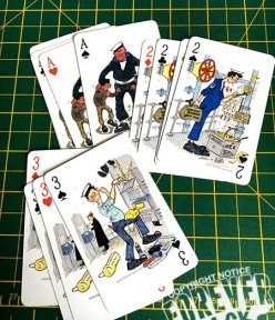 FOREVER JACK SHIPS COMPANY PLAYING CARDS